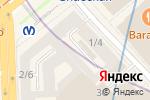 Схема проезда до компании Ганеш в Санкт-Петербурге