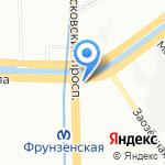 Арсенал ЖБИ на карте Санкт-Петербурга