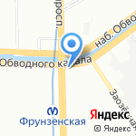 СТП Групп на карте Санкт-Петербурга
