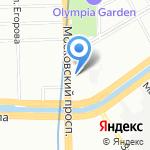 АКМ на карте Санкт-Петербурга