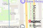 Схема проезда до компании Балтийский аудит в Санкт-Петербурге