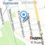 Аистократ на карте Санкт-Петербурга