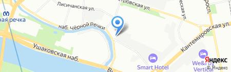 Лука на карте Санкт-Петербурга