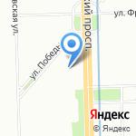София на карте Санкт-Петербурга