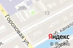 Схема проезда до компании Суп Вино в Санкт-Петербурге