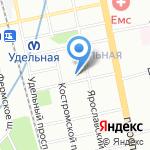 ТАЙМС на карте Санкт-Петербурга