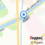 Фонтанка 108 на карте Санкт-Петербурга