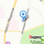 Городская поликлиника №32 на карте Санкт-Петербурга