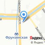 Асус Премиум Сервис на карте Санкт-Петербурга