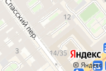 Схема проезда до компании Общество по защите прав потребителей в Санкт-Петербурге