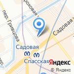 Центральное Регистрационное Бюро на карте Санкт-Петербурга