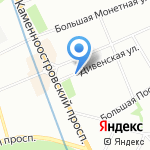 Балтонэксим Лизинг Северо-Запад на карте Санкт-Петербурга