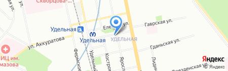 Глянец на карте Санкт-Петербурга