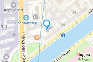 Студия в Санкт-Петербурге м. Спасская, набережная реки Фонтанки, 107