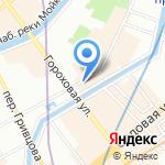 Booket на карте Санкт-Петербурга
