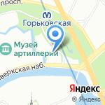Российский государственный университет правосудия на карте Санкт-Петербурга