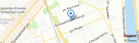 У Горчакова на карте Санкт-Петербурга