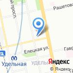 Росбанк на карте Санкт-Петербурга