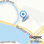 ALLIGATOR на карте Санкт-Петербурга