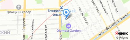 Магия сумок на карте Санкт-Петербурга