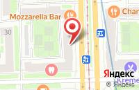 Схема проезда до компании Ярспецтехнологии в Ярославле