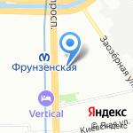 Прокат СПб на карте Санкт-Петербурга