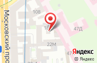 Схема проезда до компании Двадцать Девять в Санкт-Петербурге