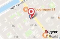 Схема проезда до компании Фелгиор в Санкт-Петербурге