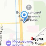 ТАРЕАЛ на карте Санкт-Петербурга