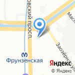 Группа Галс на карте Санкт-Петербурга