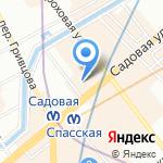 Мол Булак.РУ на карте Санкт-Петербурга