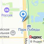 Кофейная Гамма на карте Санкт-Петербурга