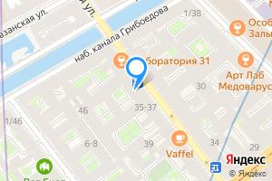 Сдается однокомнатная квартира в Санкт-Петербурге Гороховая улица, 33