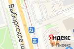 Схема проезда до компании Telepay в Санкт-Петербурге
