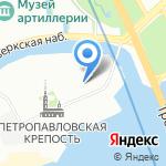 Санкт-Петербургские сувениры на карте Санкт-Петербурга