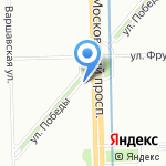 Магазин по прокату и продаже мультимедийной продукции на карте Санкт-Петербурга