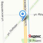 КИDO на карте Санкт-Петербурга