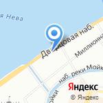 Дом ученых им. М. Горького на карте Санкт-Петербурга