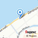 Crystal на карте Санкт-Петербурга
