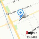 Новая Столовая на карте Санкт-Петербурга