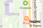 Схема проезда до компании Li-Lak for you в Санкт-Петербурге