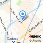 Lamoda на карте Санкт-Петербурга