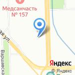 Союз-Сервис на карте Санкт-Петербурга