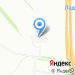 Рабочий на карте Санкт-Петербурга