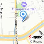 Теле-М на карте Санкт-Петербурга
