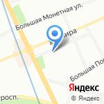 Glogos LLC на карте Санкт-Петербурга