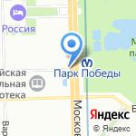 Магазин головных уборов на карте Санкт-Петербурга