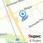 Бюро экспертизы и совершенствования проектных решений на карте Санкт-Петербурга