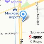 Третейский суд медицинского страхования и здравоохранения на карте Санкт-Петербурга