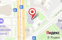 Схема проезда до компании Центр продаж домашнего интернета и ТВ в Ярославле
